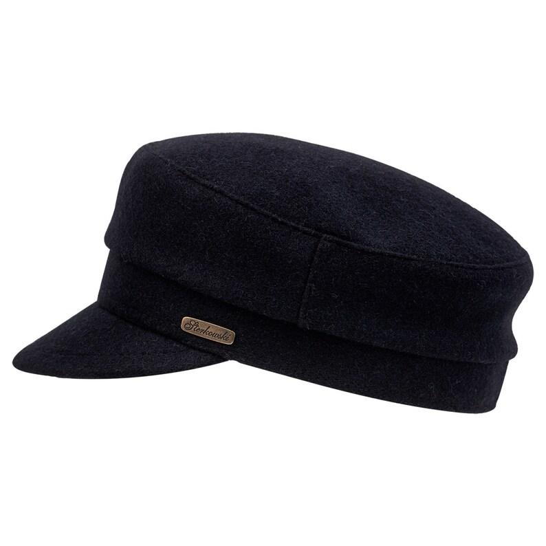 b91ea7da020 FIDDLER Jewish Tevia Wool Cloth Peaked Cap Sailor Greek