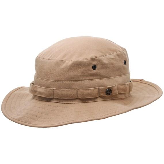 14227bb83 AFGHAN Cotton Boonie Hat Safari Hiking Sun Outdoor Military Fishing Bush  Jungle Army Backpacking Camper Trekking Walking Booney Travel