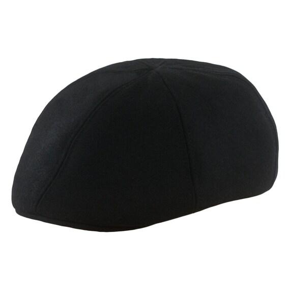 RUSTY gorra con pico de pato de lana negra  675fe07397f