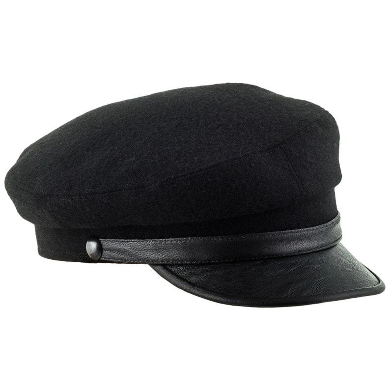 f48f1b64d2b7c MACIEJOWKA MODEL 4 Traditional Polish Peaked Cap Wool Crown