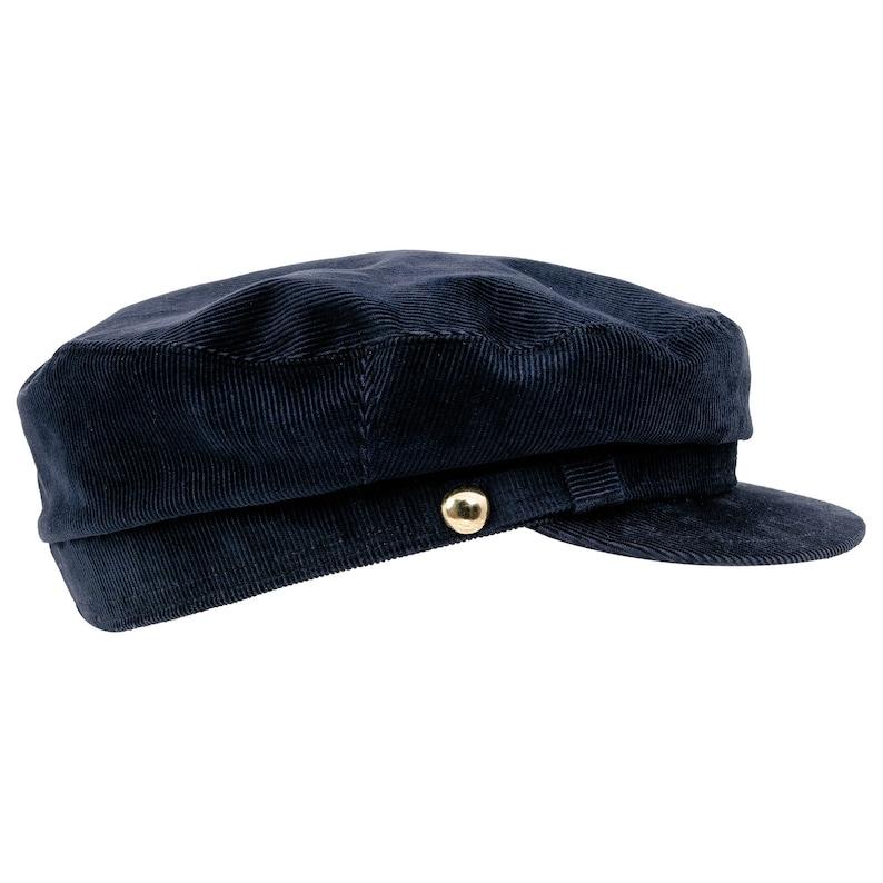 1e20fb7ef0e LENNON Corduroy Cotton Breton Liverpool Mod Hat Greek
