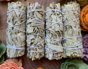 White Sage Bundle (stick) // Stick // Smoke Cleansing and Protection