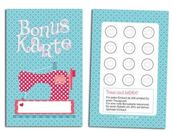 Bonus Card Sewing Millimi 50-100 STK