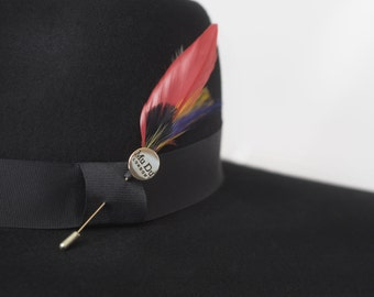37c3c8d3e216c3 Cardinal Feather Pin