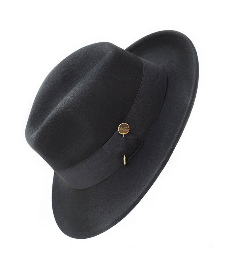 5718ce463bb9a Waterproof and Crushable Black Fedora