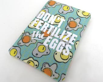 Birth Control Case - Pill Sleeve - Egg print