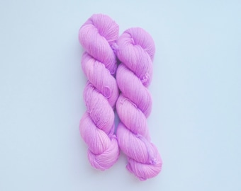 Electric Orchid- Hand Dyed Merino DK Yarn