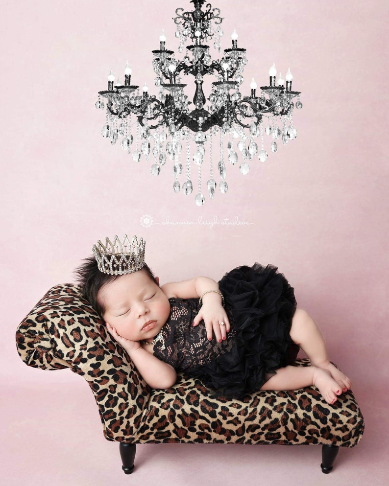 Black Newborn Tutu Dress Photography Props Newborn image 0