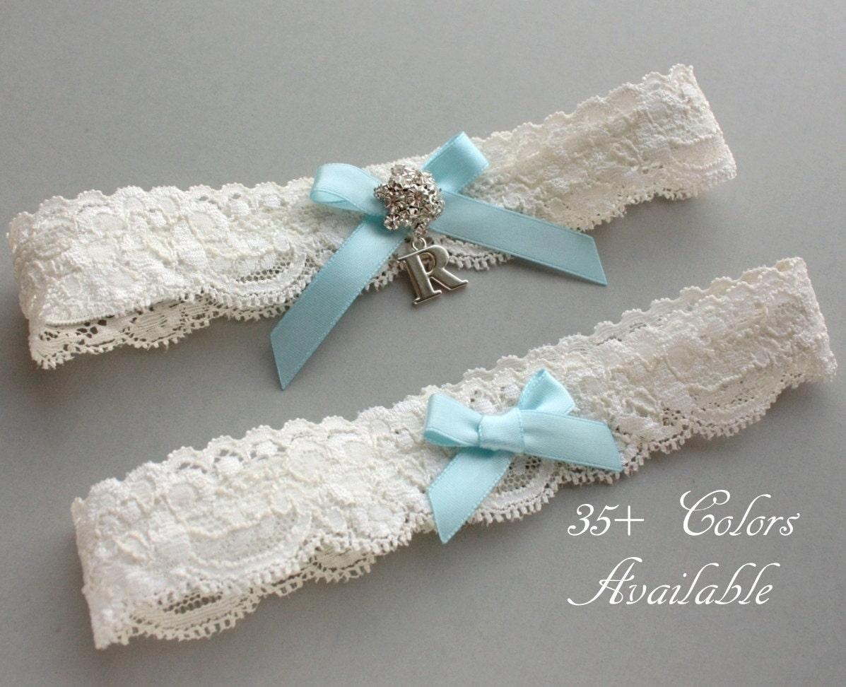 Wedding Garter Champagne Pearl Bow Wedding Garter Set or One Garter Satin Ribbon Bow Rhinestone Garter Set Simple Wedding Bridal Garter