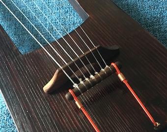 7 string Travel-Practice Viking lyre