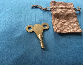 Zither pin tuning key  (brass)