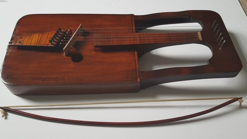 Welsh Crwth by Michael J King image 0