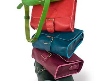 Handbag in natural leather BELLA