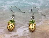Pineapple Earrings. Shepherd s Hooks