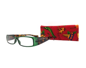6af392e5601c8 Green and Tortoise +1.75 Borghese Reading Glasses