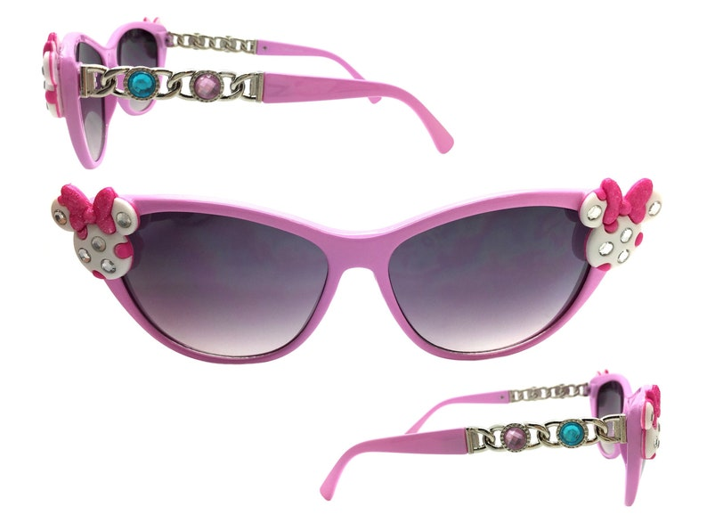 cac5d79dd7c0 Cat Eye Sunglasses Disney Sunglasses Minnie Mouse | Etsy