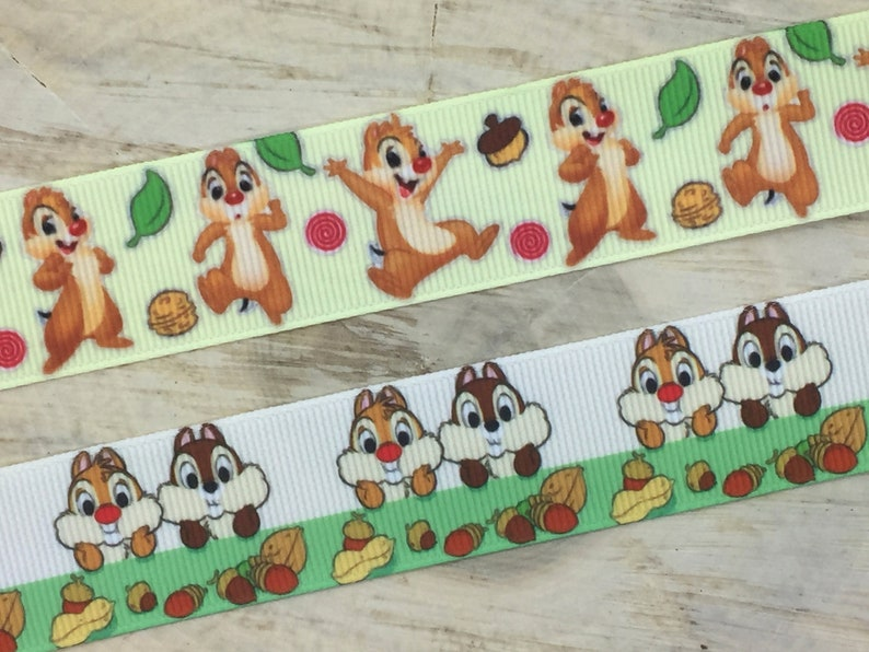 Character Grosgrain Ribbon 1 25mm Sold by the Yard