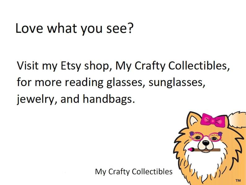 +2.25 Readers Embellished Eyewear Purple Eyeglasses Orange Gift for Gardener Flower Reading Glasses