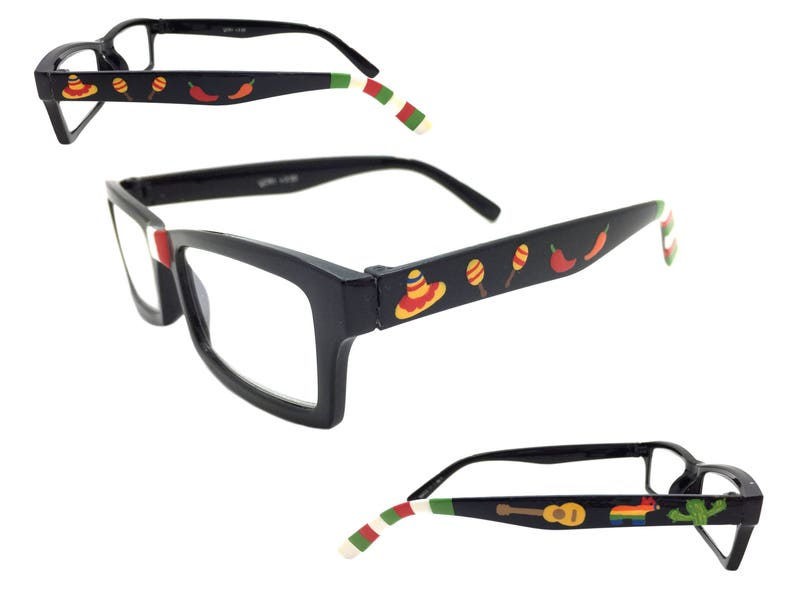 f00b52ddb2fcc Reading Glasses Cinco de Mayo 3.50 Readers Hand Painted