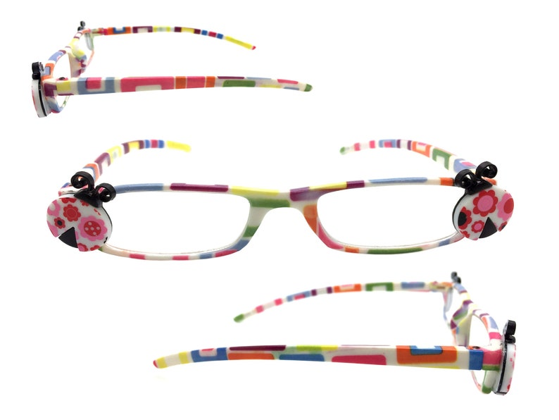 6039bb8719c Ladybug Reading Glasses 3.00 Strength Readers Multi-Color