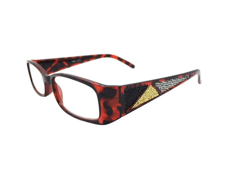 Spectacles Glasses Case Tortoise Eyeglasses Reading Glasses Readers Multi-Color Reader Case 3.50 Reading Glasses Soft Eyeglass Case