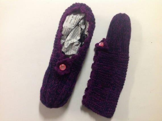 2e68e1c085325 Nordic knit slippers