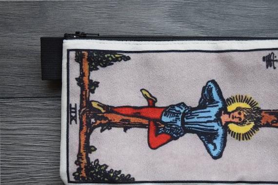 lined velveteen pencil case YOU CHOOSE any tarot card major arcana tarot card series