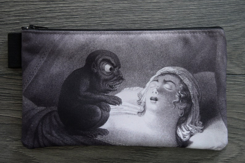double sided print lined twill pencil case jean pierre simon 1810 nightmarecochemare