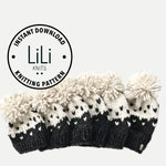 Pattern | LiLiKnits Chunky Knit Slouchy Fair Isle Hat Set Newborn - Adult | THE MODELLO | Instant Download