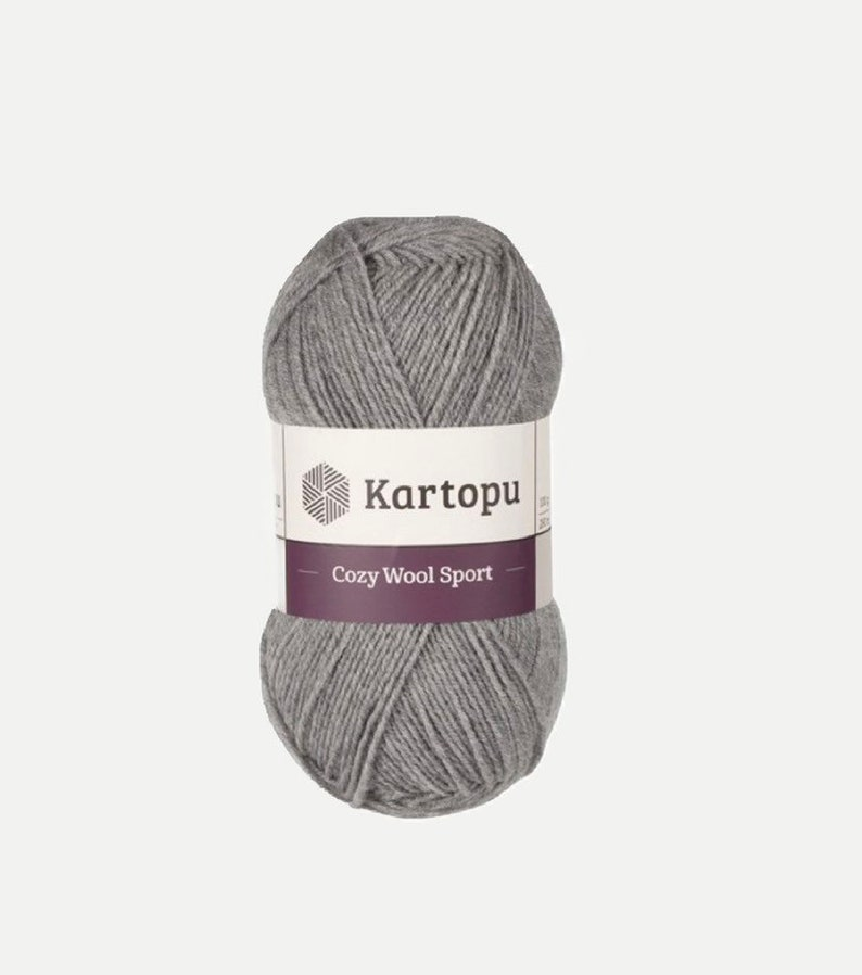 Kartopu Cozy Wool Sport Yarn  chunky wool/acrylic  light image 0