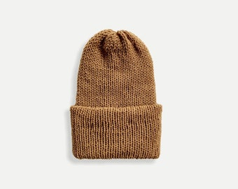 Double Knit Beanie with Fold Up Brim | THE CLASSICO