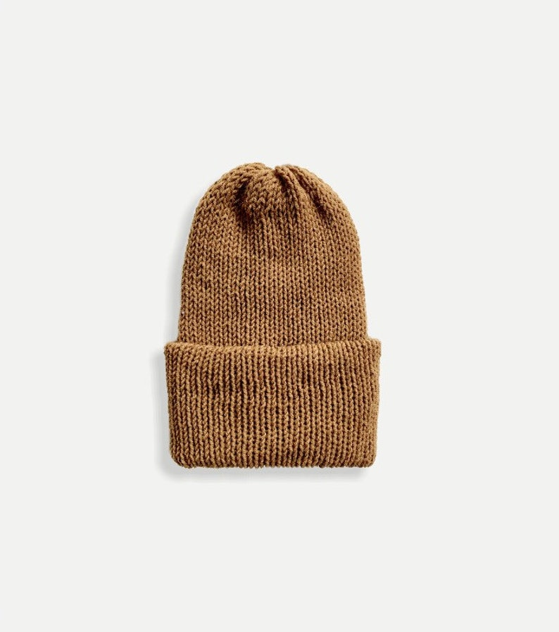 Double Knit Beanie with Fold Up Brim  THE CLASSICO image 0