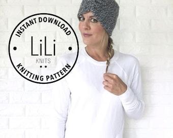 Pattern | LiLiKnits Knit Headband Turban | THE LANA | Instant Download