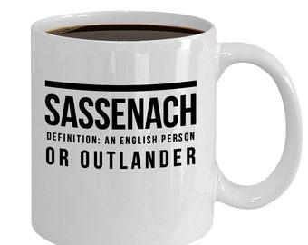 Sassenach Definition Mug Gift for Outlander Fan