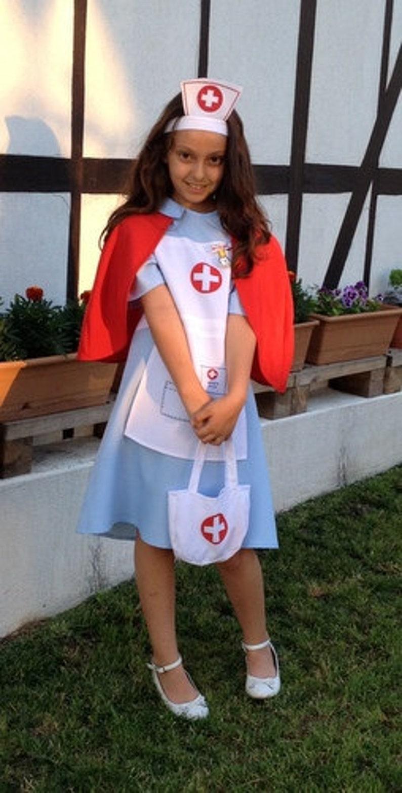 d1fc1a9e72f4e Nurse Costume Nurse Halloween Medical Nurse Dress Nurse | Etsy