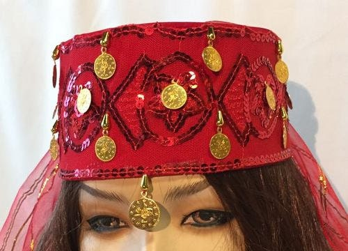2f87f0830 Fez hats, Moroccan Cap, Hurrem sultan, Turkish costume, Costume party,  folkloric hat, women's turban, medieval hat, Costume Accessory gift
