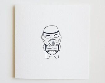 Star Wars / Stormtrooper / Card