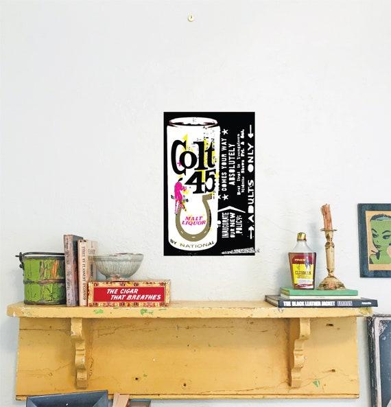 Malt Liquor  Drunk  Beer art   Hardison L Collins III   LowBrow  Country Club Malt Liquor trashy  punk  pop art