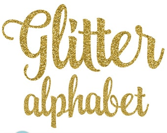 Gold glitter letters etsy gold glitter alphabet gold alphabet sparkly glitter script handwriting alphabet gold glitter clip art letters 5032 altavistaventures Image collections
