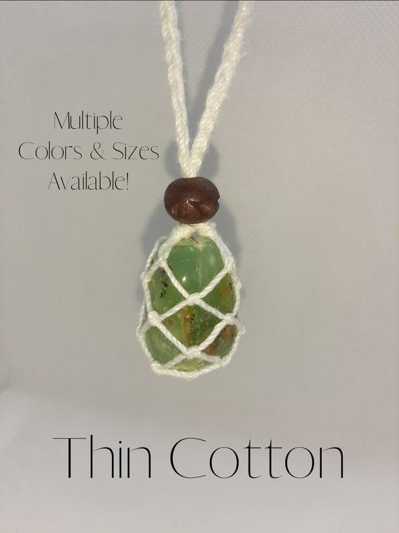 Mokite Smooth Cab Macrame Pendant Thread Pendant Gorgeous Handmade Gemstone Unisex Uses Jewelry Pendent shape Oval size 27x47 mm