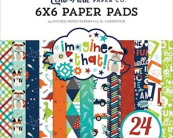 Echo Park Paper IMAGINE THAT - BOY 6x6 Scrapbook Paper Pad