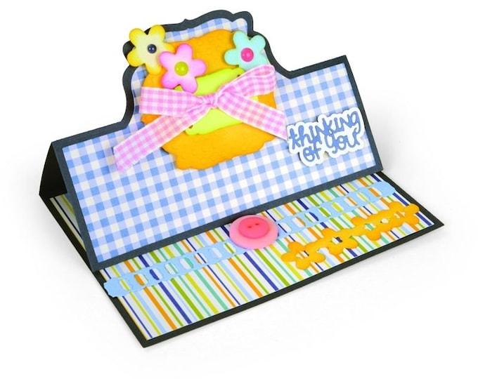 Sizzix Framelits Die Set 22PK - Card, Bubbly Stand-Ups by Stephanie Barnard