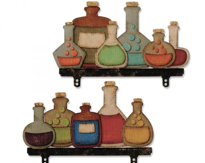 New! Sizzix Tim Holtz Thinlits Die Set 28PK - Laboratory 663092
