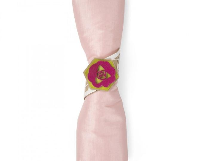 New! Sizzix Thinlits Die Set 5PK - Napkin Ring by Lynda Kanase 663183