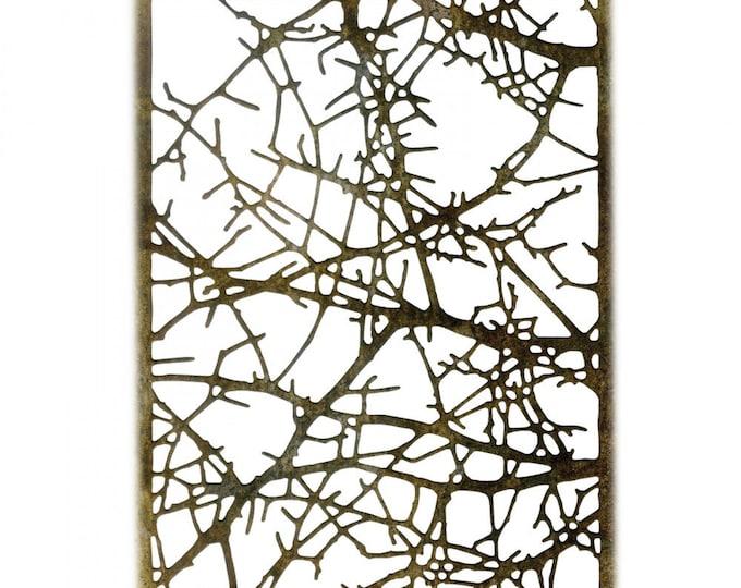 New! Sizzix Tim Holtz Thinlits Die - Tangled Twigs 663086