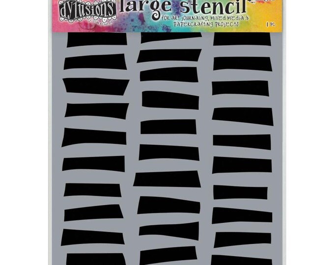 New! Ranger Dylusions SHUTTERS Large 9x12 Stencil by Dyan Reaveley