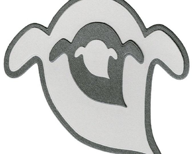 Quickutz/Lifestyle Crafts Halloween NESTING GHOSTS Dies Set DC0189