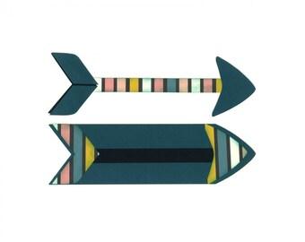 New! Sizzix Bigz Plus Die - Arrows by Katelyn Lizardi for Big Shot Plus Machine