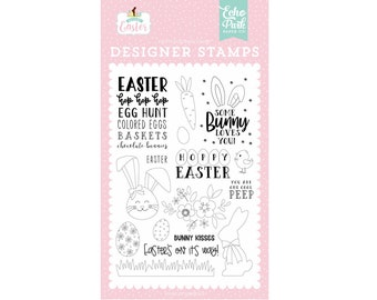 Large Easter Egg Hunt stamp BB4 45 mm