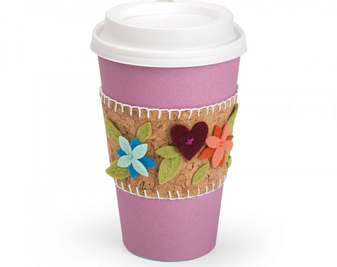 New! Sizzix Bigz Die - Sleeve, Coffee Cup by Katelyn Lizardi 662777